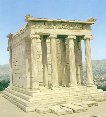 پاورپوینت بررسی سبک معماری یونان - همراه با هدیه ویژه