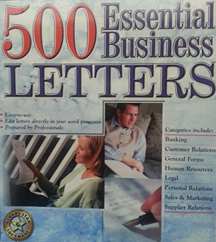 Essential Business Letters - پانصد نمونه مکاتبه تجاري -