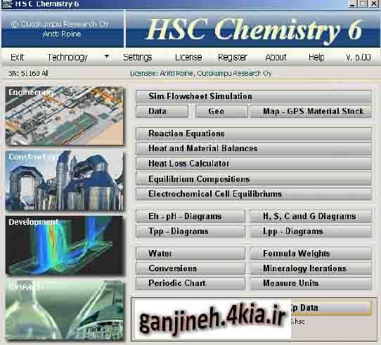 آموزش نرم افزار تحلیل ترمودینامیکی HSC