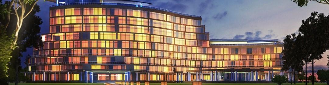 هتل 5 ستاره در مرکز تفریحی هزارویک شهر